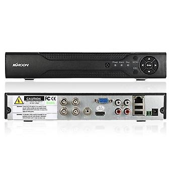 KKmoon 4CH-kanal full 1080N / 720P AHD DVR HVR NVR HD P2P Cloud Network Onvif Digital Video Recorder + 1TB Hårddisk stöd Plug and Play Android / iOS APP Gratis CMS Browser View Motion Detection E-post Larm PTZ för HD 2000TVL CCTV Säkerhetskamera Surveilla