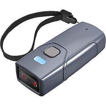 HanFei Wireless Barcode Scanner 2D, Bluetooth 5.0 QR Code Scanner, Tragbar Taschenscanner, 30m
