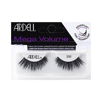 Ardell 3D Mega Volume 250 Black Maximum Tapered Thick Strip  Eye Lashes