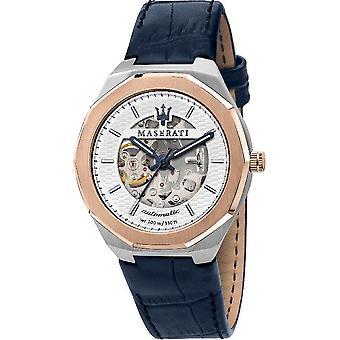 Maserati Мужские часы Стили 42mm Автоматическая Серебряный синий R8821142001