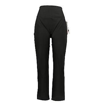Kobiety z control kobiety&s spodnie Reg gładka i elegancka czarny A391211