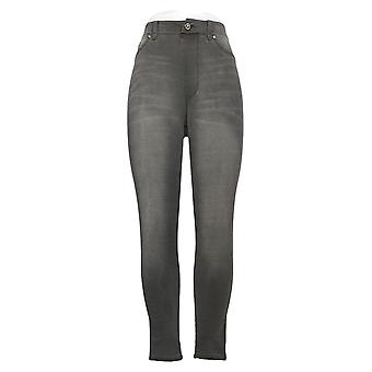 DG2 by Diane Gilman Women's Pants Small Pull-On Skinny Jegging Gray 750710