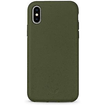 Wokex CWA Design - Bio Handyhülle Case kompatibel mit iPhone X/XS - umweltfreundlich, nachhaltig,