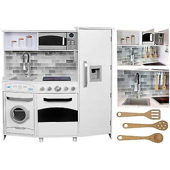 Cucina per bambini con suono + accessori - 100x31x106 cm