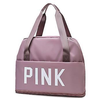 Large-capacity independent shoe luggage bag