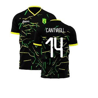 Norwich 2020-2021 Away Concept Football Kit (Libero) (Cantwell 14)
