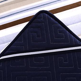 Colchón de franela de árbol lento y colchone mate de piso de colchón individual/doble