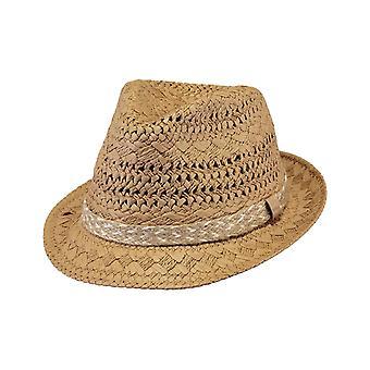 Barts Bobizi Fedora Hat in Natural