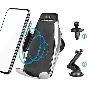 FengChun Wireless Automatic Clamping 7.5W / 10W Qi Veloce Car Charging Phone Holder Air Vent