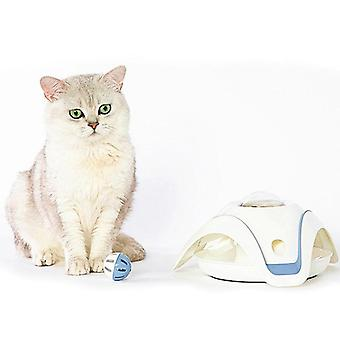 Pet Automatic Leaking Food Toy Puzzle Interactive Cat Playing Healthy Non toxic Safe Toy