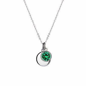 Mai Émeraude Gant de naissance - 40cm + 3cm prolongateur - Cadeaux bijoux pour femmes de Lu Bella