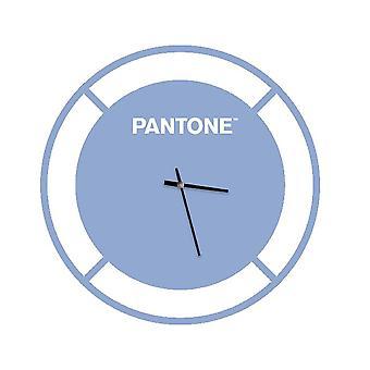 PANTONE Klocka Enhet Färg Blå, Vit, Metall L40xP0.15xA40 cm