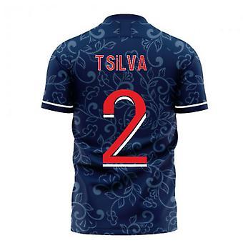 Pariisi 2020-2021 Home Concept Football Kit (Libero) (T.SILVA 2)