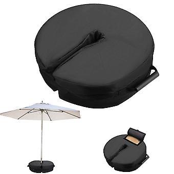 Parasol parasol zandzakken standaard basis outdoor patio paraplu basis weerbestendig gewicht tas