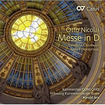 Otto Nicolai - Otto Nicolai: Messe in D [CD] USA import
