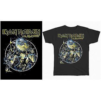 Iron Maiden - Live After Death Unisex X-Large T-Shirt - Noir