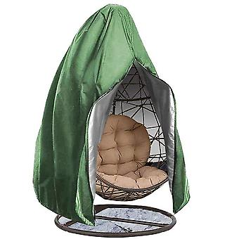 Swotgdoby Patio Hanging Egg Chair Cover - Waterproof Outdoor Single Seat Wicker Swing Egg Chair