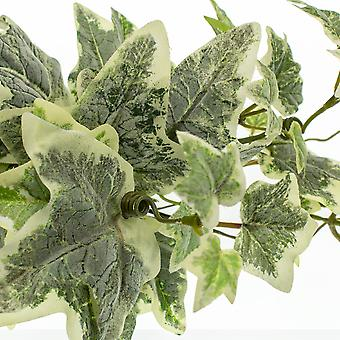 180cm Chunky Varigated Ivy Garland for Floristry Crafts - Artificial Foliage
