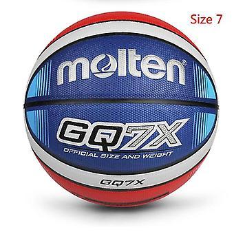 2022 Hoge kwaliteit basketbal bal officiële grootte 7/6/5 pu lederen outdoor indoor wedstrijd training opblaasbare basketbal baloncesto