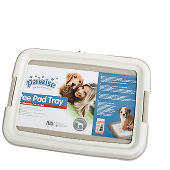 Pee pad holder dog potty trainer