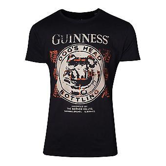 Hondenkop Bottelen T-Shirt