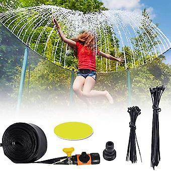 Inflatable bouncers trampoline waterpark sprinkler outdoor summer for outside fun backyard