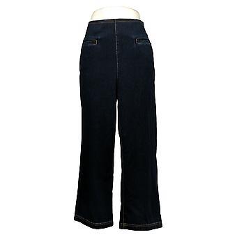 WynneLayers av MarlaWynne damebukser Reg Straight Leg Blue 655861