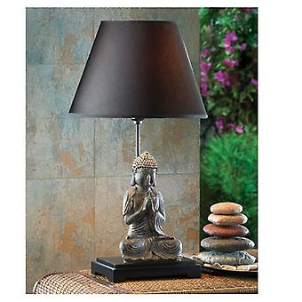 Accent Plus Dark Shade Buddha Table Lamp, Pack of 1