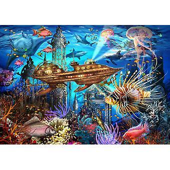 Bluebird Aqua City Jigsaw Puzzle (1000 Pieces)