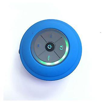 Portable Subwoofer Waterproof Bluetooth Wireless Speaker(Blue)