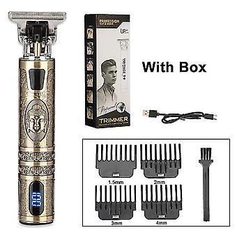 Herren Trimmer Friseur Haarschneidemaschine Haarschneidemaschine Bartschneider Rasiermaschine Wireless
