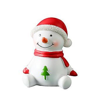 Christmas Ornaments Santa Snowman Figurines Dollhouse Fairy Garden Decoration