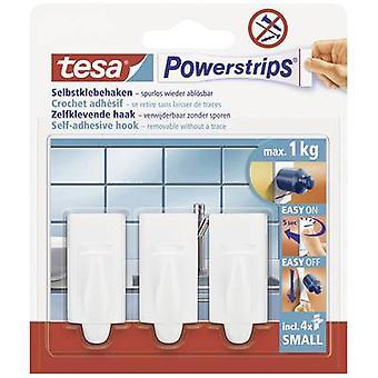 tesa 57559-00-01 Tesa Tur ® Kroker Liten Trend Hvit Innhold: 3 stk(er)