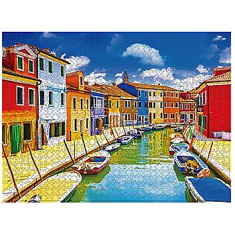 Swotgdoby Landscape Puzzles Of The Riversade And Coastal, 1000 Pieces