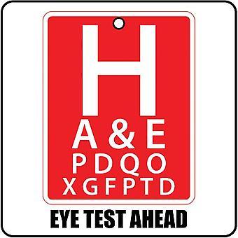 Auge Prüfung voraus Auto-Lufterfrischer