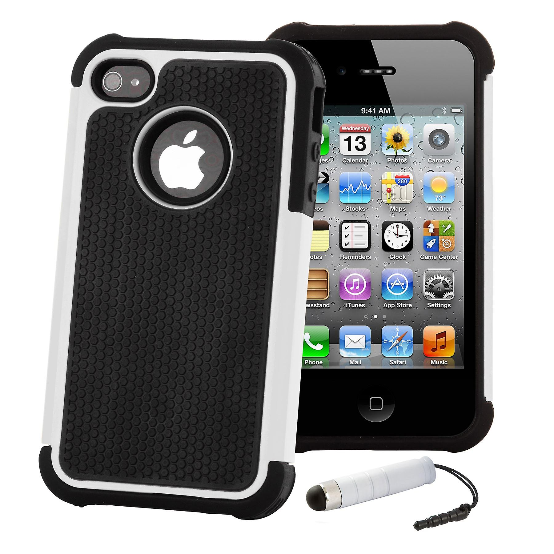 Shock Proof Case Cover For Apple iPod Touch 5 - White