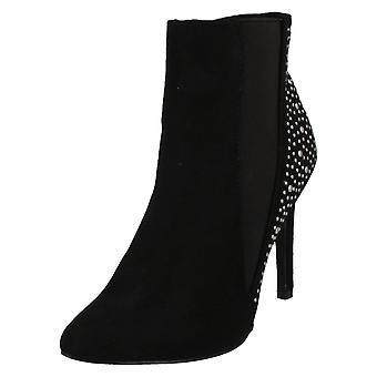 Ladies Anne Michelle Slim Heel Ankle Boots F50683