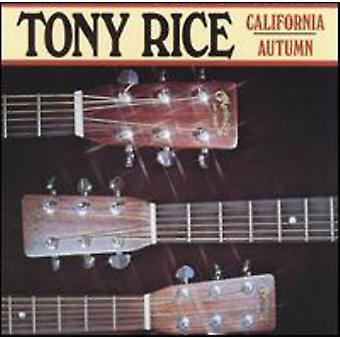 Tony Rice - California Autumn [CD] USA import