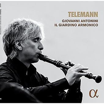 Telemann / Antonini, Giovanni / Il Giardino Armonico - Telemann: musique pour l'importation USA enregistreur [Vinyl]