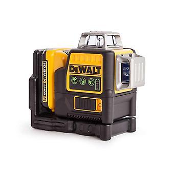 DeWALT DCE089D1G-GB Multi línea Laser - verde - 2.0Ah - 10.8v