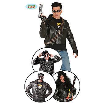 Rocker jakke motorsykkel jakke rocker kostyme Mr kostyme én størrelse