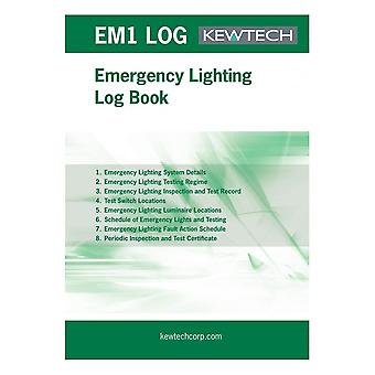 Kewtech On-site Log For Emergency Lighting Systems