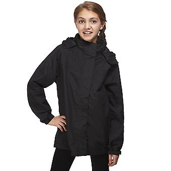 New Peter Storm Girl's Ii Wendy Waterproof Jacket Black