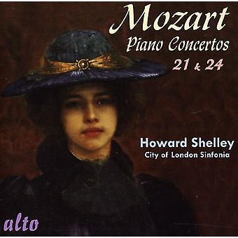 W.a. Mozart - Mozart: Piano Concertos nos 21 et 24 [CD] USA import