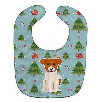 Busbana francese del bambino Carolines tesori BB4768BIB Natale Jack Russell Terrier