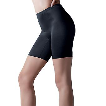 Anita Rosa Faia 1784-001 Women's Twin Shaper Black Light Control Slimming Shaping Shorts