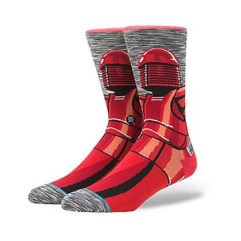 Stance Star Wars Red Guard Crew Socks in Grey
