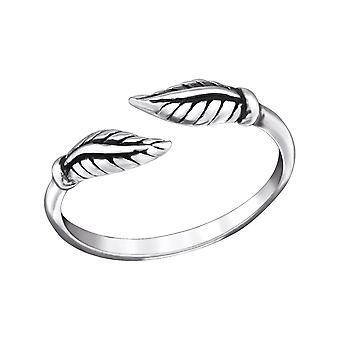 Leaf Shape-925 ασήμι στερλίνας δαχτυλίδια ποδιού-W27622X