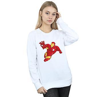 Marvel Women's Iron Man eenvoudig Sweatshirt