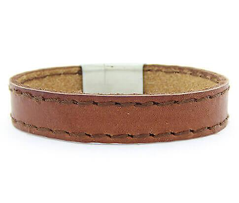 Christian Leather Brown Bracelet